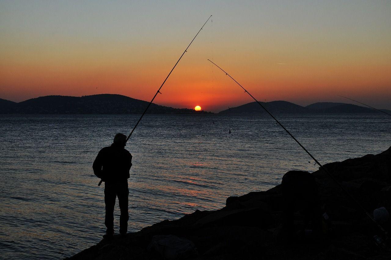 Le domaine de Tver de paix la pêche