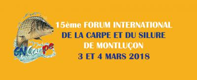 Forum International de la Carpe et du Silure de Montluçon : 15e édition