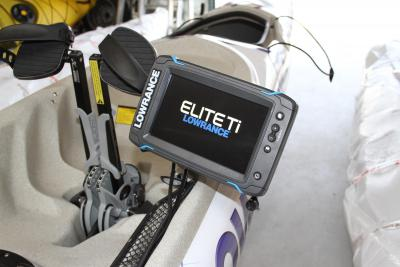Combiné Lowrance Elite Ti : simple et intuitif