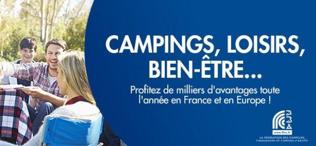 Partenariat Fédération des campeurs, caravaniers et camping-caristes