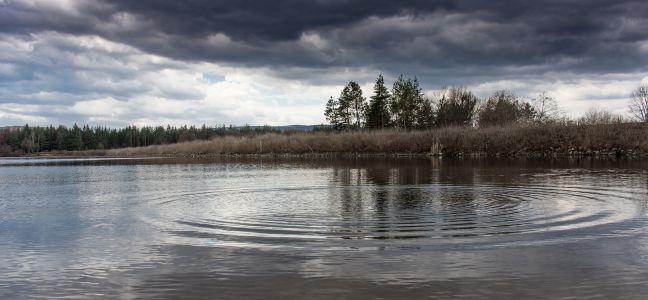 Pêcher par mauvais temps
