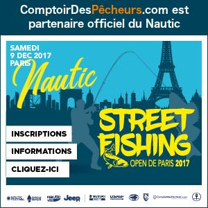 Publicité nautic streetfishing